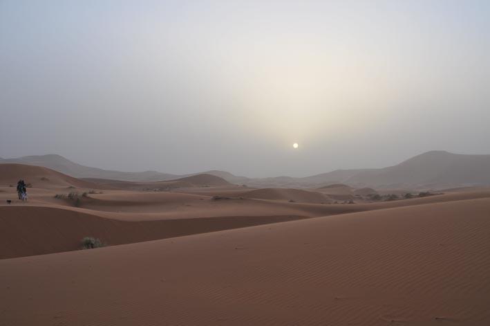 Paseo en 4×4 por las dunas del desierto marroquí