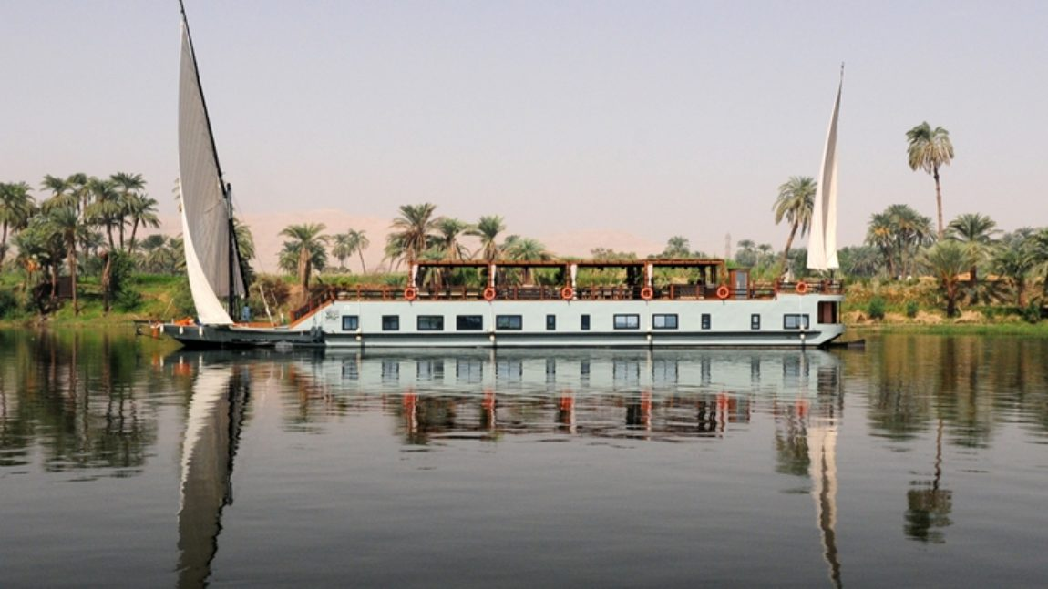 Nilo en Dahabiya (lujo, 9 días)