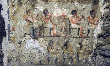 Nueva Tumba de la XVIII dinastía encontrada en Luxor