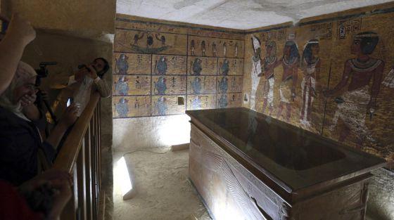 Abierta la réplica de la tumba de Tutankamon en el Valle de los Reyes