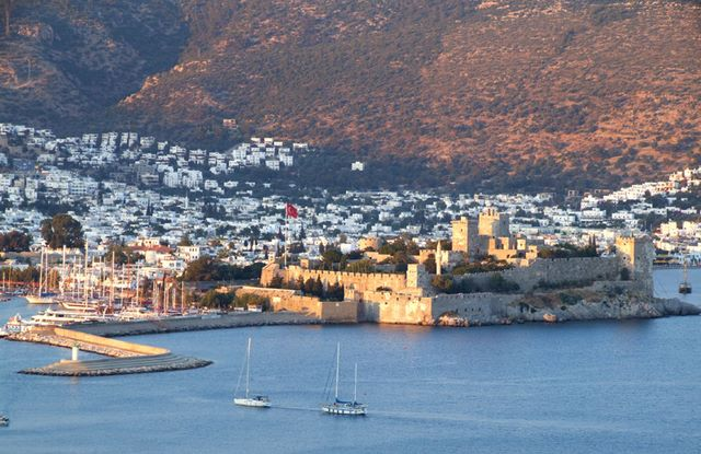 Bodrum - Bodrum Castle also known as Castle of St. Peter.