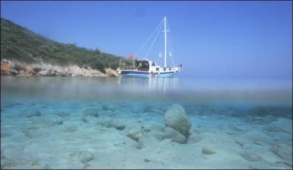 Crucero en Goleta por el Egeo turco, Bodrum – Golfo de Hisaronu