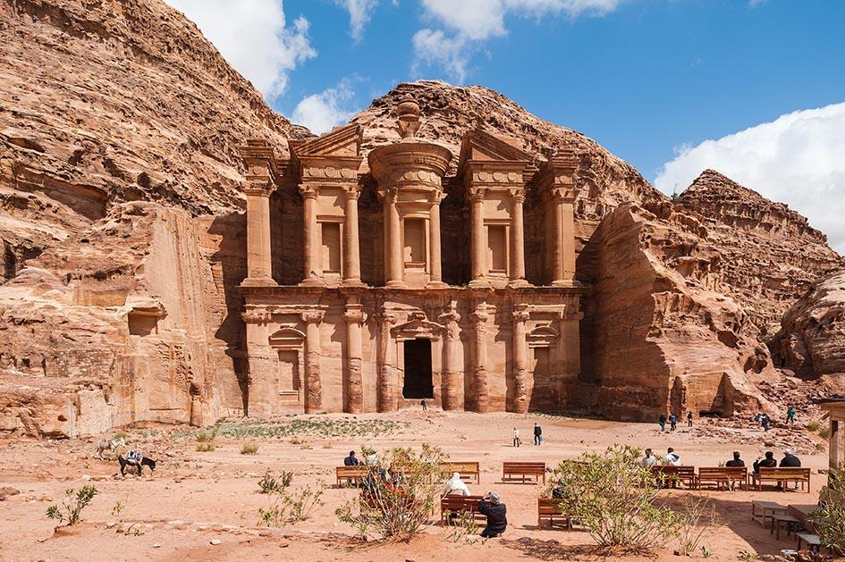 El Deir or The Monastery at Petra, Jordan