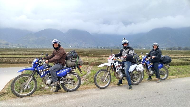 Motorbike Enroute
