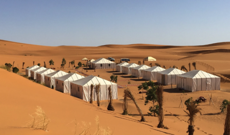 Campamento de Lujo en Merzouga